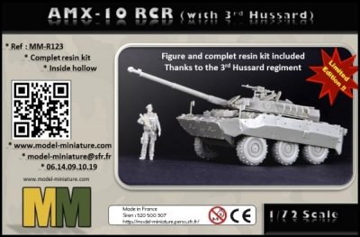 AMX-10 RCR Model Miniature