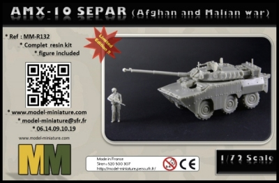 AMX-10 separ Model Miniature