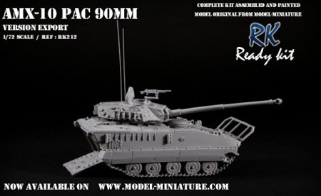 AMX-10 P PAC 90mm Model Miniature