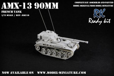 AMX-13 90mm Model Miniature