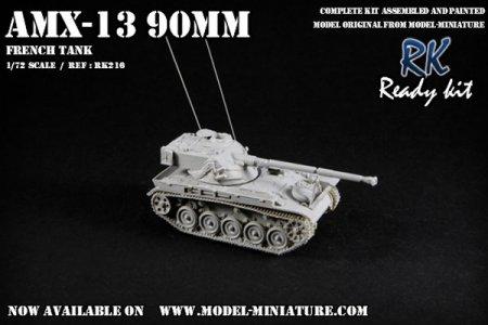 AMX-13 90mm Model Miniature