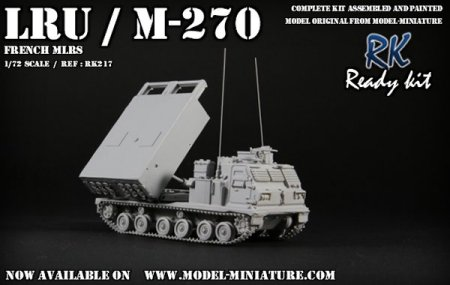 LRU french MLRS Model Miniature
