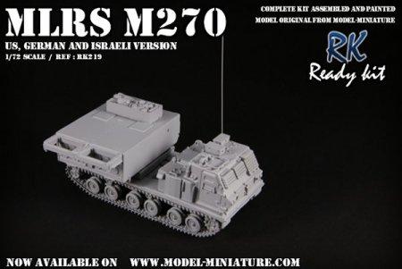 MLRS Model Miniature