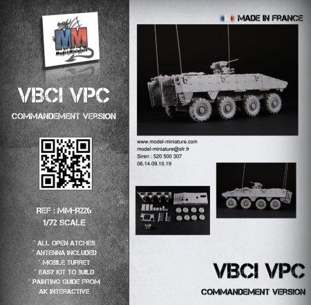 VBCI VPC, frnch vehicle, Model Miniature