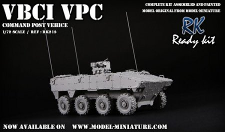 VBCI VPC, french vehicle, Model Miniature