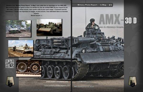 AMX-30D, livre, book