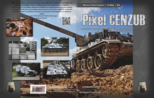 livre pixer urbain cenzub AZUR sissonee BRENUS AMX-30 amx30 brenus era french tank brick reactive armor armée française maquette blindé français livre livret papier publication