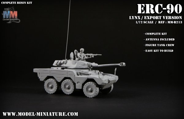 ERC sagaie lynx model miniature