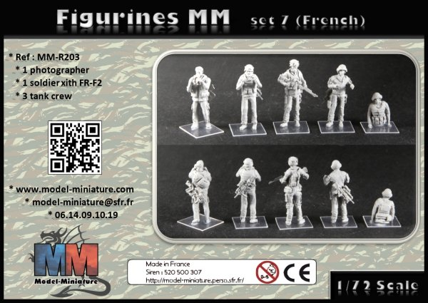 french, soldier, franaçis, fantassin, drone, milan, france, 1/72