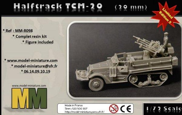 halftrack TCM-20