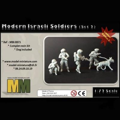 Modern israeli soldier set 2