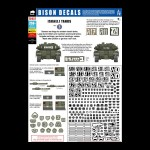 Bison Decals: Israeli Tanks 3