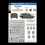 Bison Decals: Israeli Tanks 2