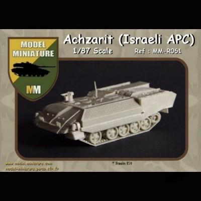 Achzarit 'Israeli APC) 1/87 scale