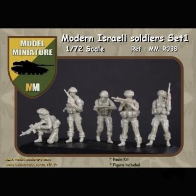 Modern israeli soldier set 1