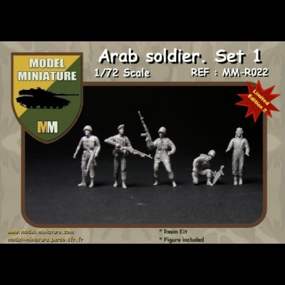 Arab Soldier set1