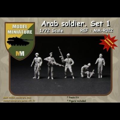 Arab Soldier set1