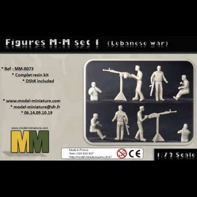 Figurine MM set 1 (Lebanese war)