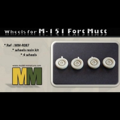 Wheels for M-151 Ford Mutt