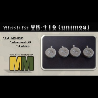 Wheels for UR-416 (Unimog)