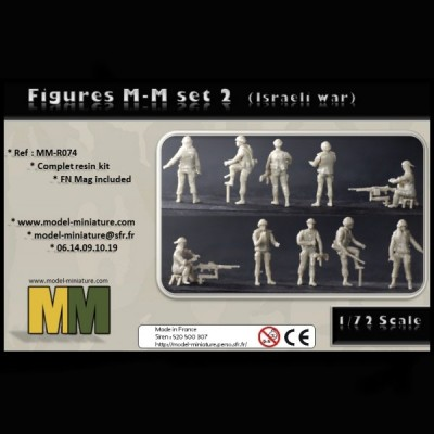 Figure MM set 2 (Israeli war)