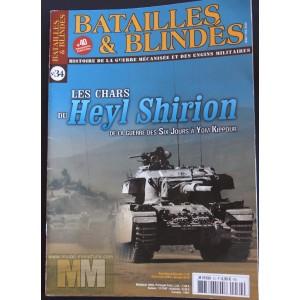 Batailles & Blindés: Les chars du Heyl Shirion, n°34
