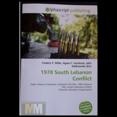 1978, South lebanon Conflict