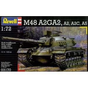 Revell: M-48 A2GA2, 1/72