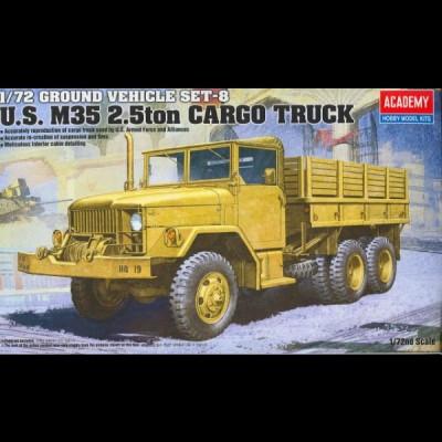 Academy: US M35 2,5 ton Cargo truck, 1/72