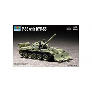 Trumpeter: T-55 with BTU-55