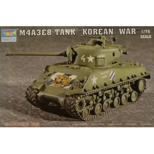 "Trumpeter: M4A3E8 Tank ""Korean War"", 1/72"