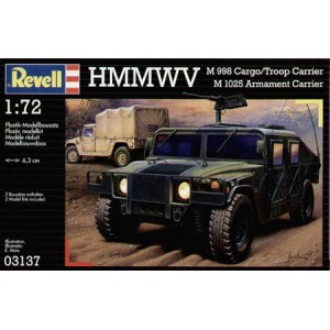 Revell: HMMWV M958 Cargo/troop Carrier, 1/72