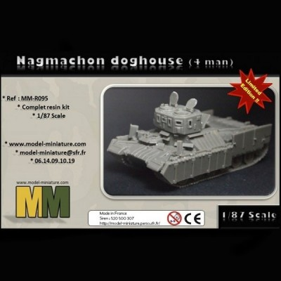 Nagmachon doghouse (4 man) 1/87 scale