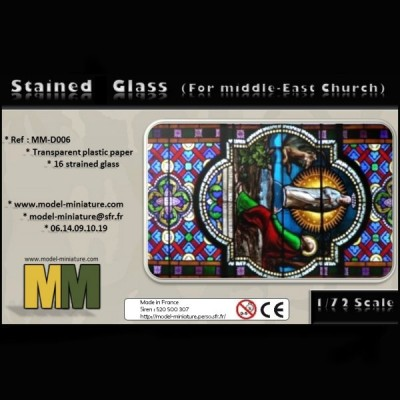 Stained Glass (for Middle-East Church), 1/72