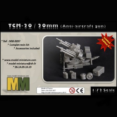 TCM-20 / 20mm (Anti-aircraft gun)