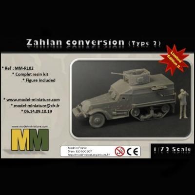 Zahlan conversion (type 2)