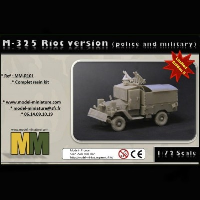 M-325 Riot version (police and military)