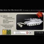 Up-date for Merkava III (Trumpeter, Revell, Cromwell Models)