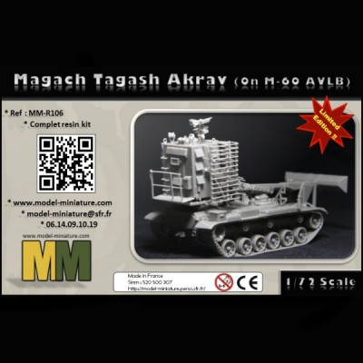 Magach Tagash Akrav (on M-60 AVBL)