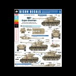 Bison Decals: M51 Super Sherman