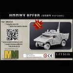 HMMWV OPFOR (BRDM version) 1/72