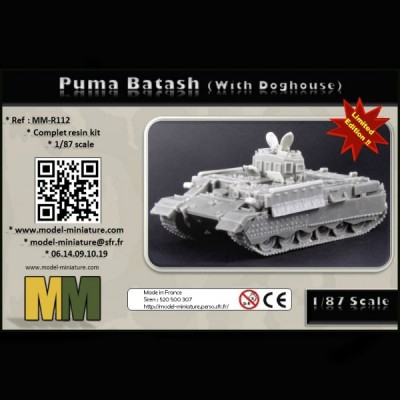 Puma Batash (with Doghouse),1/87