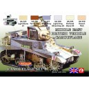 Lifecolor: MIDDLE EAST BRITISH VEHICLE CAMUFLAGE