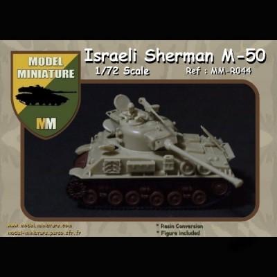 Israeli Sherman M-50