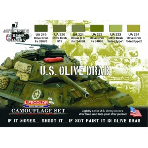Lifecolor: U.S. OLIVE DRAB