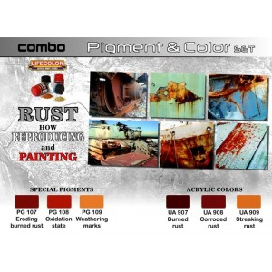 Lifecolor:Rust how reproducing and painting