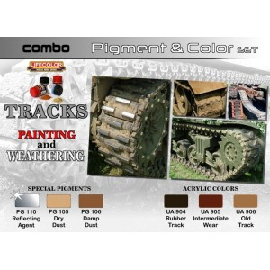 Lifecolor: Tracks painting and weathering