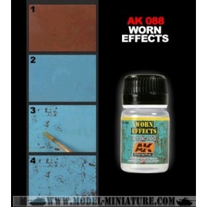 AK-Interactive:Worn Effects Acrylic Fluid