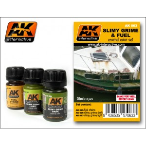 AK-Interactive: Slimy And Fuel Effects Set