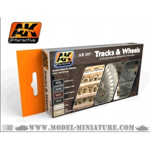 AK-Interactive: Track And Wheels Set
